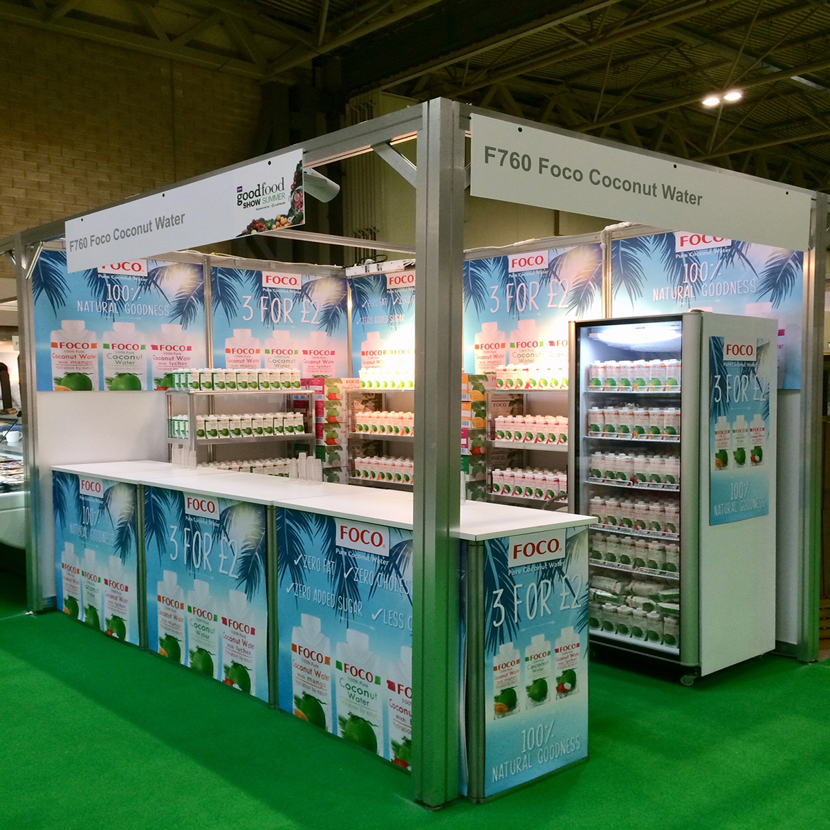 Foco Coconut Water Stand