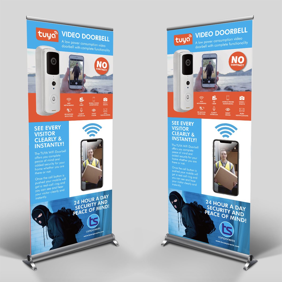 TS Components Roll Up Banners